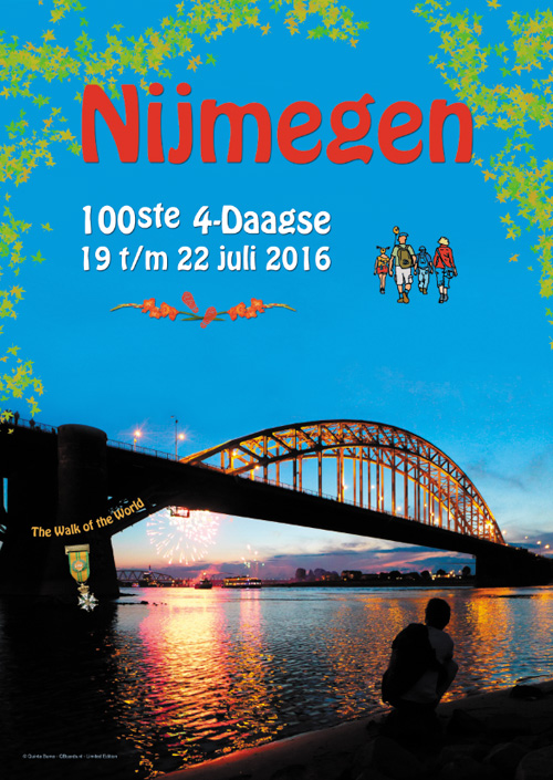 poster 100ste 4daagse